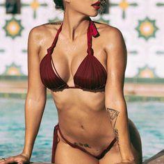 $16.81 (Buy here: https://alitems.com/g/1e8d114494ebda23ff8b16525dc3e8/?i=5&ulp=https%3A%2F%2Fwww.aliexpress.com%2Fitem%2F2016-Push-Up-Bikini-Women-Swimsuit-Fashion-Swimwear-Sexy-Bathing-Suit-maillot-de-bain-femme-Biquine%2F32699297164.html ) 2016 Push Up Bikini Women Swimsuit Push Up Swimwear Sexy Bathing Suit maillot de bain femme Biquine Swim Wear Brazilian Bikini for just $16.81
