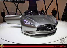 INFINITI EMERG-E Concept Electric Car