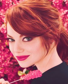 Emma Stone :) love her color!!!!