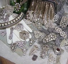 Gorgeous vintage jewelry.