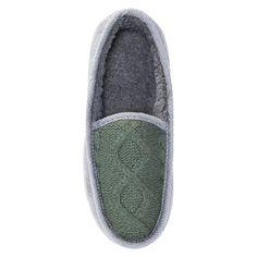 Men's Muk Luks Henry Loafer Slippers - Dark Gray M(10-11), Size: M (10-11)