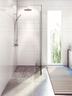 Purus Purusline Living Twist Grate Inline Outlet 52747 - Baker and Soars - Leicester Wet Room Bathroom, Wet Room Shower, Bathroom Interior, Modern Bathroom, Spa Bathrooms, Master Bathroom, Small Wet Room, Wet Room Flooring, Houses