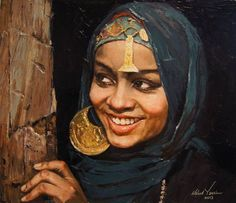 Risultati immagini per waleed yassin Henri Matisse, Middle Eastern Art, Art Nouveau, Egypt Art, Art Corner, Arabic Art, Soul Art, Beauty Art, Portrait Art