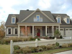 paint colors for house with gray roof - Google Search