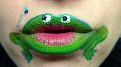 cómo hacer un maquillaje de rana - Disfraz casero