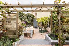 Pergola For Small Backyard Pergola Garden, Pergola Shade, Garden Landscaping, Backyard, Outdoor Rooms, Outdoor Gardens, Outdoor Seating, Marquise, Pergola Plans
