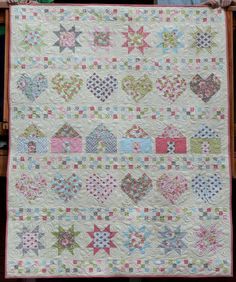 All In A Row Free Quilt Pattern--unable to print this-unable to print anything from favequilts
