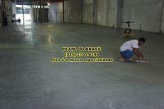 Aplicação de Cimento Queimado
