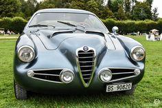 Alfa Romeo 1900 SSZ à Chantilly Arts et Elegance #MoteuràSouvenirs Reportage :  http://newsdanciennes.com/2016/09/05/chantilly-arts-et-elegance-2016-creme-creme/ #ClassicCar #VintageCar #Voiture #Ancienne