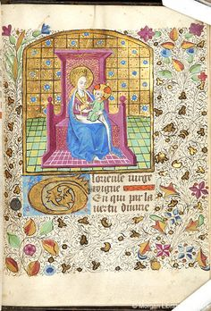 Book of Hours, MS M.84 fol. 166r - Images from Medieval and Renaissance Manuscripts - The Morgan Library & Museum