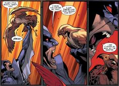 Death of Redwing...... Captain America Falcon Brother Blood