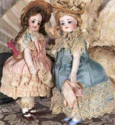 antique all bisque doll - Google Search