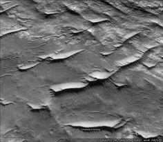 Planeta Marte, acaso serán extructuras?