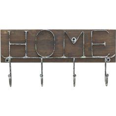 Melannco 4 Hook Houses Metal Coat Hooks                                                                                                                                                     Mais