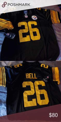 a688403995b L. Bell Pittsburgh Steelers Color Rush Jersey L. Bell Pittsburgh Steelers Color  Rush Jersey