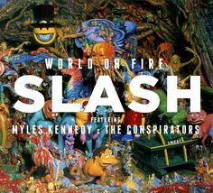 Slash is back with his 3 solo album, the second with his new band The Conspirators featuring Myles Kennedy (Alter Bridge), Todd Kerns and Brent Fitz