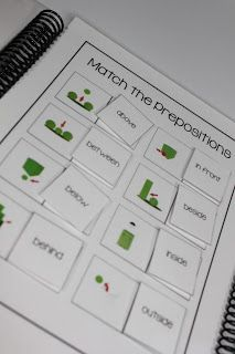 Adapted books for children with special needs (autism.) Peek-A-Boo Where is the Leprechaun Interactive books are great for hands on learning to practice prepositions