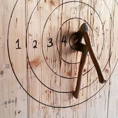 H&H instructors are trained to throw right handed, left handed, and even backwards so they can teach anyone who walks through our doors! -- #throwaparty #throwingclub #sports #lumberjack #woods #beer #axe #adventure #buffalo #mainstreet #500block #downtown #fun #athletes #wine #cider #axethrowing