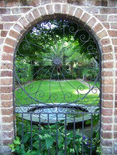 Garden Gate, Charleston, South Carolina.