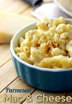 Ummm YESS!!  Parmesan Mac and Cheese recipe!  Just click over and see these photos, they are DROOL worthy!!!