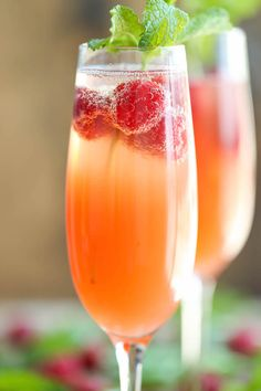 Grab a few fresh grapefruits, squeeze, and mix with sparkling white wine. Get the Grapefruit Mimosas recipe.
