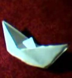 Barco de papel. Papiroflexia