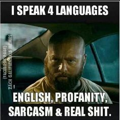 This sums up my linguistic skill set nicely.