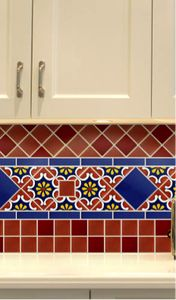 Whether you are building a new kitchen or remodeling your old kitchen, there's nothing like the color, brilliance and beauty of authentic hand-painted Mexican tile to enhance a kitchen backsplash. Mexican Tile Kitchen, Spanish Kitchen, Kitchen Backsplash, Mexican Tiles, Backsplash Design, Backsplash Ideas, Tile Ideas, Tile Murals, Tile Art