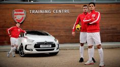 Arsenal Players with Citroen DS5