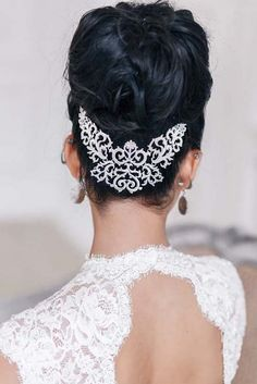 Art4studio long wedding updo hairstyles #weddings #hairstyles #bride #fashion ❤️http://www.deerpearlflowers.com/art4studio-wedding-hairstyles/