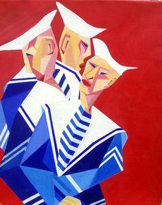 Martozen - oil painting - 40x60cm - ©Henk van Merkom - 2003