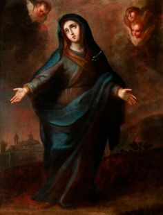 "35005918. Escuela andaluza del siglo XVIII. ""Dolorosa"". Óleo sobre lienzo. Con marco de época. Medidas: 96 x 74 cm; 119 x 81 cm (marco)."