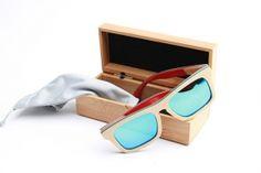 Bambus Sonnenbrille, Brown Skater
