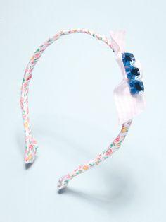 Jeweled Ribbon Headband - The final product