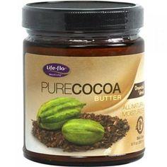 Life-Flo 1167352 Pure Cocoa Butter Organic 9 Fl Oz