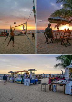 Sunset at Jericoacoara, Brazil   heneedsfood.com