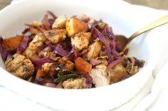 Balsamic Chicken Veggie Bowl (Paleo, AIP, Whole30) - Grazed & Enthused