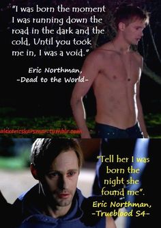 "The curse that wiped Eric's memory made him run to his ""heart's desire""= Sookie"