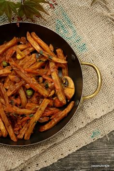 Kenyan masala chips are french fries with a coating of spicy, tomato sauce. I enjoyed this dish when I lived in Kenya. This is a unique Kenyan dish that I have not come across anywhere else. In Nai…
