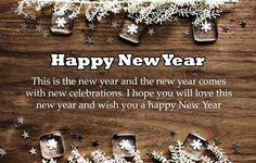 Happy New Year Quotes :Happy New Year Quotes and Messages HD Images Happy New Year Quotes, Happy New Year Greetings, Quotes About New Year, Happy New Year 2019, Daily Quotes, Best Quotes, Hd Images, Messages, Daily Qoutes