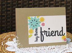 Friend KISS Cards