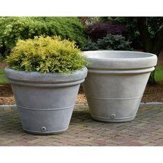 Estate Rolled Rim Garden Planter