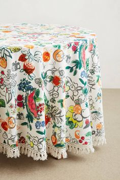 Vine Fruits Tablecloth - #anthrofav