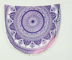 """Table Runners – Roundie tapestry for Wall Decor 72"""" inch Beach Ta – a unique product by INDIANTRADITIONAL on…"""