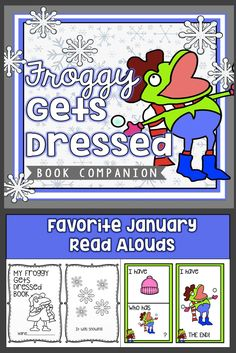 Froggy gets dressed activity pack for free school pinterest froggy gets dressed book companion pronofoot35fo Images