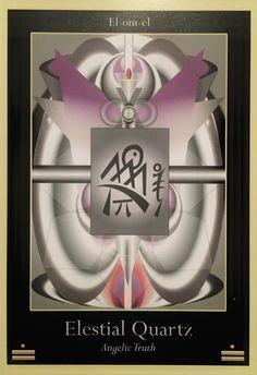 Elestial Quartz, from the Liquid Crystal Oracle Card deck, by Justin Moikeha Asar