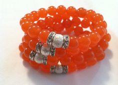 Tangerine Tango 2012  Rock Life's Orange Crush by RockLifeJewelry, $45.00