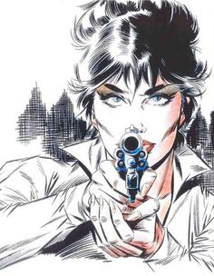 Modesty Blaise - Art by Enrique Badia Romero