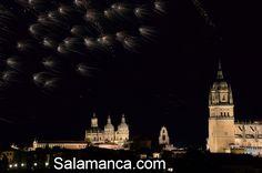 #Salamanca despidió #SanJuandeSahagún con fuegos artificiales.