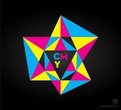 CMYK Diamond Logo - www.danielerikeriksson.se
